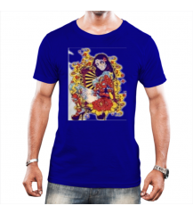 CAMISETA TRADICIONAL TATTOO-MOÇA ROYAL PIX UNISSEX