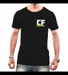 CAMISETA CFPHD SPORTS - PRETA - #COSTELA