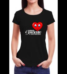 Camiseta Amor Preta