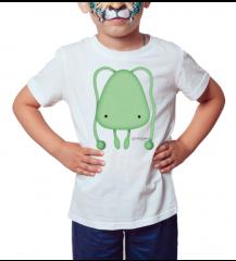 Glinder - Série Toy Arte - Camiseta Infantil Branca