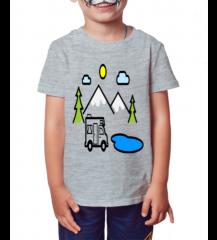 Camiseta Infantil Carrinho