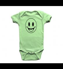 BODY INFANTIL VERDE SORRISO PIX