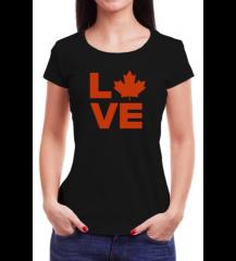 Canada Love - Babylook Preta