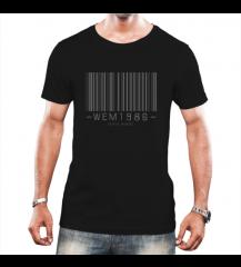 Camiseta Masculina Wem BarCode - CmMsPt2020005