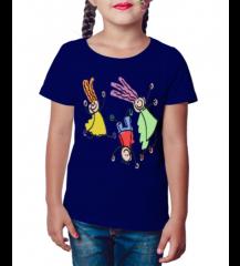Camiseta Infantil Alegria