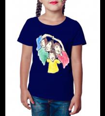 Camiseta Infantil Amizade
