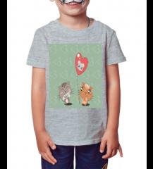 Camiseta Infantil Cat Two