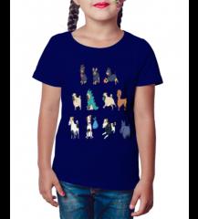 Camiseta Infantil Dog
