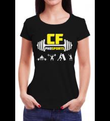 CAMISETA CFPHD SPORTS - PRETA - #FRAN-21-15-9