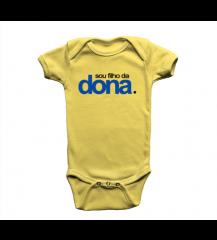 Body Infantil Filho da Dona