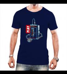 Camiseta ParadaHits Play - Azul Marinho