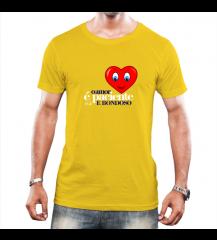 Camiseta Amor Amarela