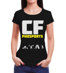 CAMISETA CFPHD SPORTS - PRETA - #ROBERTA75