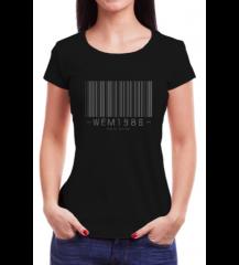 Camiseta Feminina Wem BarCode - CmFmPt2020005
