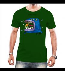 Peixe Grande - Camiseta Verde