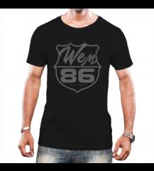Camiseta Masculina Wem Brasão - CmMsPt2020004