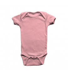 Body Infantil Rosa