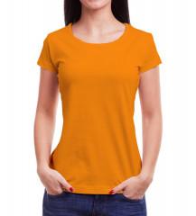 Camiseta Babylook - Laranja