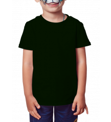 Camiseta Infantil Preta