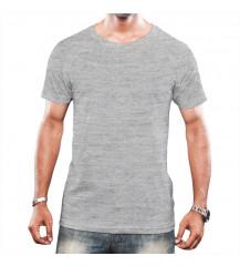 Camiseta Tradicional Masculina Cinza
