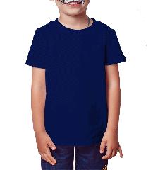 Camiseta Infantil marinho