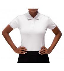 Camiseta Polo Feminina - Branca