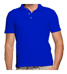 Camiseta polo Masculina - ROYAL