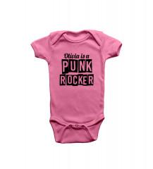 Olivia Punk Rocker Rosa