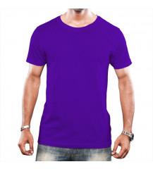 Camiseta Tradicional Masculina - Roxa