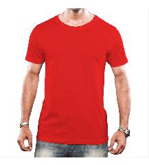 Camiseta Tradicional - Vermelho