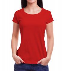 Camiseta Babylook - Vermelho