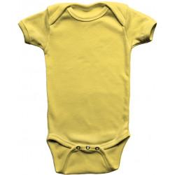 Body Infantil Amarelo