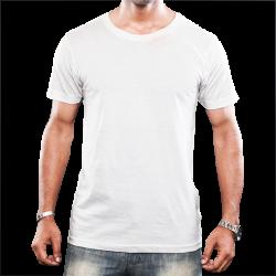 Camiseta Tradicional Masculina - Branca